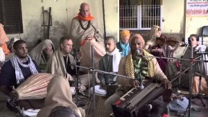 Indradyumna Swami at Saubhari Muni Ashram