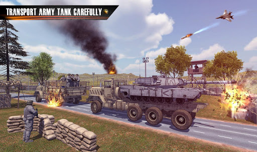 Us Army Truck Driving Truck simulator: Truck Games  captures d'écran 1