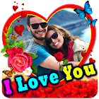 ❤❤ Love Photo Frames, Greetings and Gif's ❤❤ icon