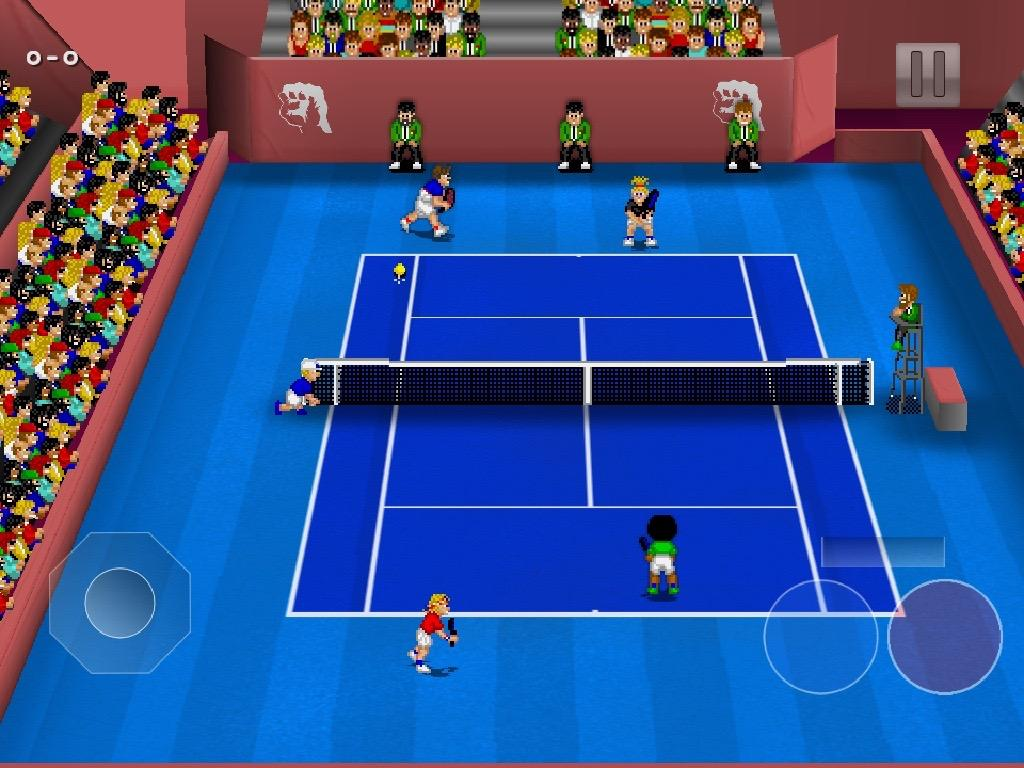 Tennis Champs Returns- screenshot