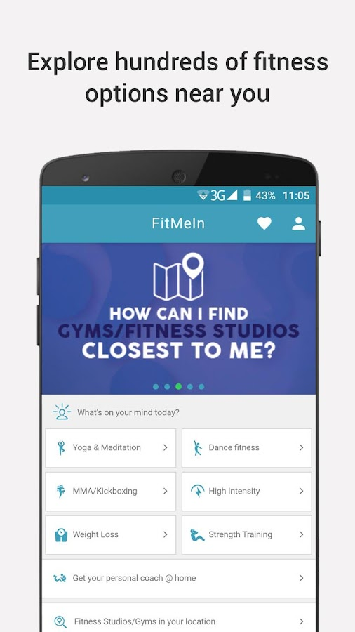 FitMeIn - Exercise on the Go!- screenshot