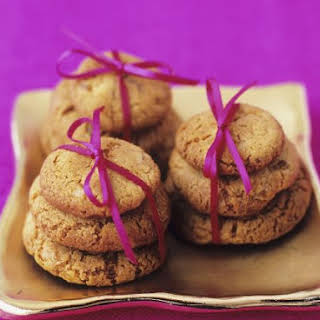 Piles of Spiced Cookies.
