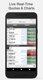 Stocks Charts Realtime Quotes Screenshot