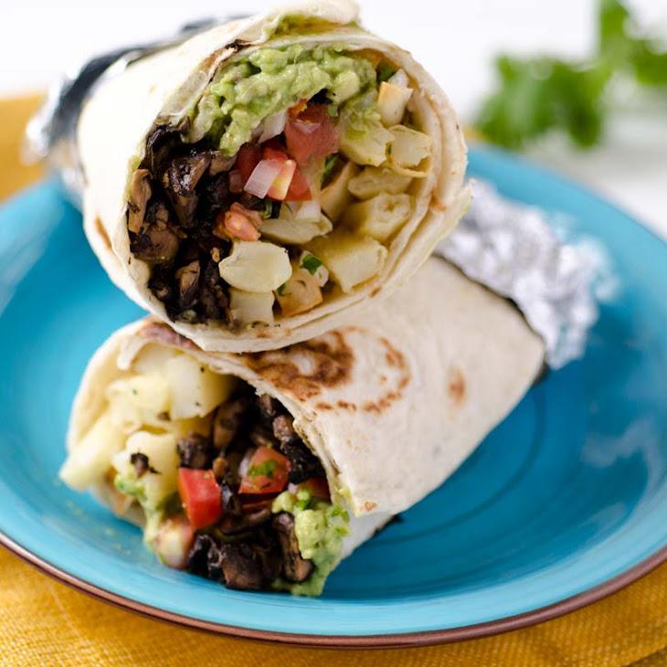 The Best Vegan California Burrito