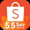 Shopee 5.5 Sale Chào Hè icon