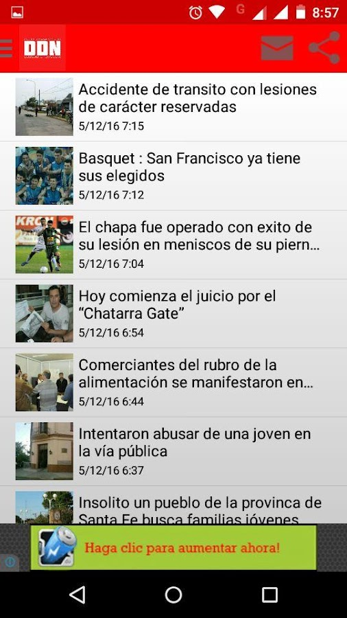 Dosis De Noticias- screenshot