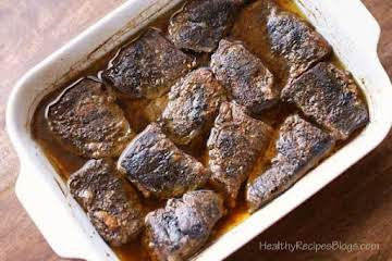Oven Braised Boneless Short Ribs, So Tender! | Healthy Recipes Blog