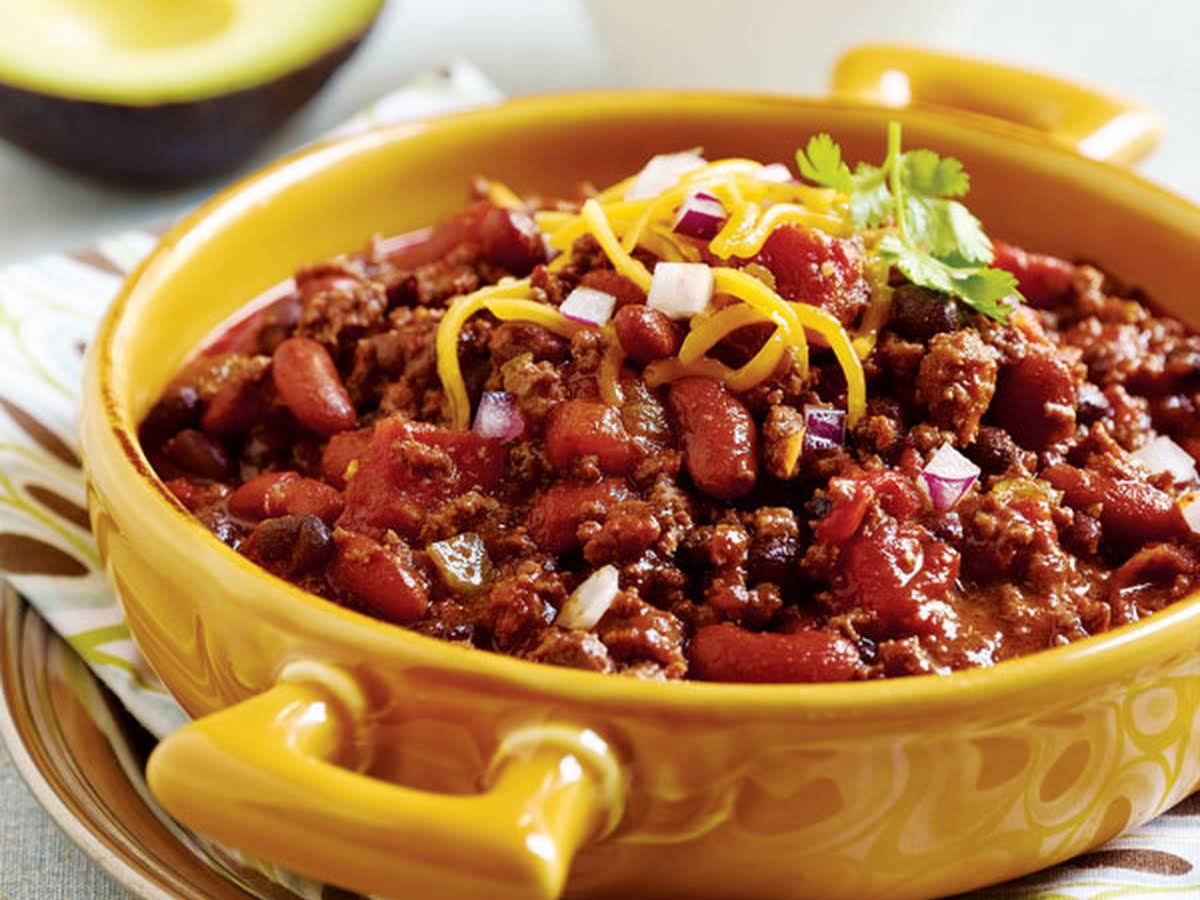 Slow Cooker Chili Dried Beans Recipes Yummly
