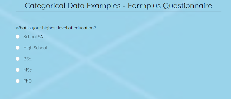 examples-categorical-data-close-ended-questions