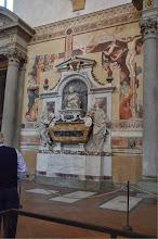 Photo: Florence - Santa Croce, Galileo's Tomb