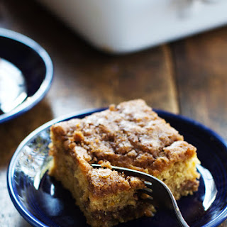 Cinnamon Sugar Zucchini Coffee Cake