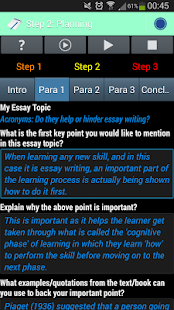 ezy essay android apps on google play  ezy essay screenshot thumbnail