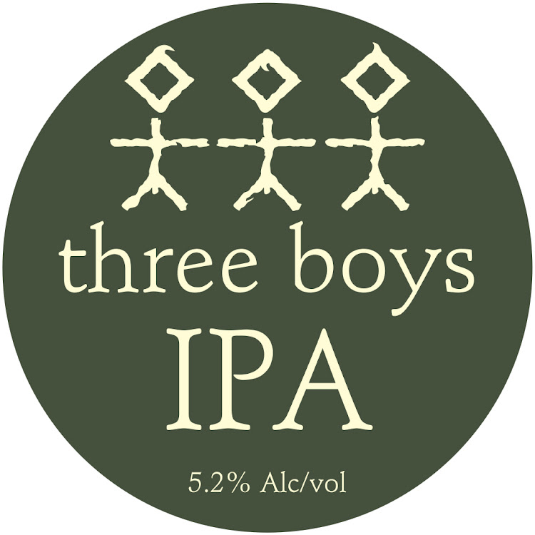 Logo of Three Boys IPA