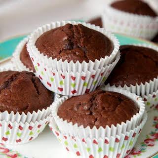 Vegan Chocolate Orange Muffins.