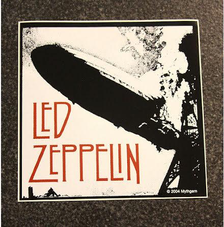 Led Zeppelin - Zeppelin - Klistermärke