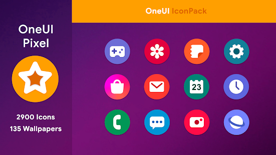 OneUI 2 - Round Icon Pack Screenshot