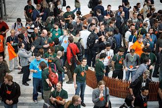 Photo: Group Photo at Ubuntu Developer Summit Raring Ringtail (UDS-R) at Bella Center, Copenhagen, Denmark, EU - 29th Oct - 1st Nov 2012 [cc by-sa 2012 Sean Sosik-Hamor]