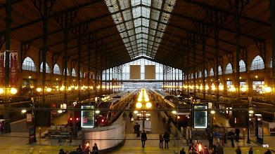Photo: Paris: Gare du Nord - 2 Thalys aus Bruxelles