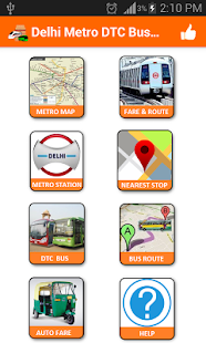 Delhi Metro Map,Fare, Route , DTC Bus Number Guide 1