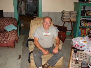 Photo: Lou - keeps Butedale running and tells great stories.