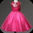Little Girl Dress Design icon