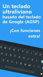 Minimal Keyboard – Ligero y personalizable teclado 2