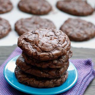 Chocolate Truffle Cookies.