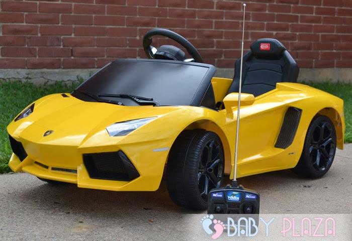 Siêu xe oto điện Rastar Lamborghini 81700 (LP700-4) vàng