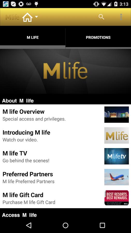 M life- screenshot