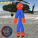 Amazing Spider Stickman Rope Hero Gangstar Crime