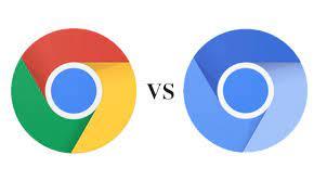 chrome logo and chromium logo