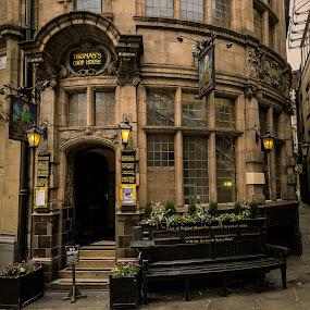 Thomas's Chop House, Manchester by Dimitri Foucault - City,  Street & Park  Markets & Shops ( shops, street, chop, manchester )