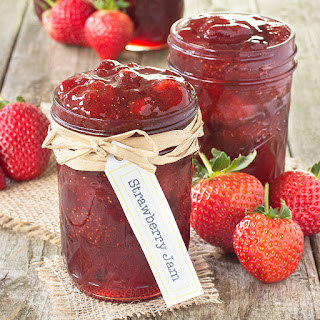 Homemade Strawberry Jam.