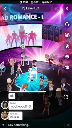Club Cooee - 3D Avatar, Chat, Party & Make Friends modavailable screenshots 5