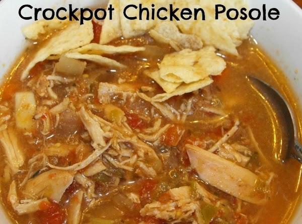 Crock Pot Chicken Posole Recipe