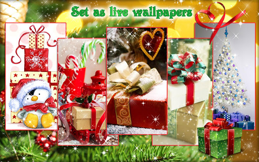 Christmas Gifts ud83cudf81 Live Wallpapers New Year 2.4 screenshots 12