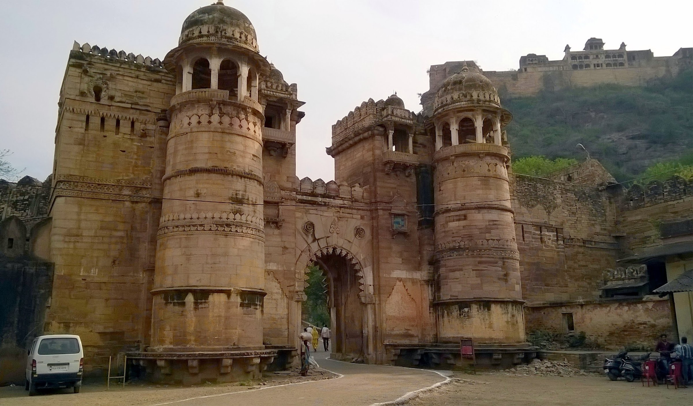 Gwalior Fort, Monuments of India List