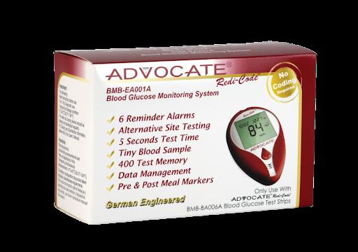 Sistema Monitoreo Glucosa En Sangre Con Voz Advocate Sistema Monitoreo