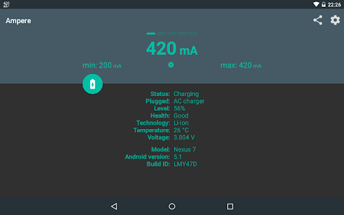 Ampere 2.11 [Pro Unlocked/Patched] Cracked Apk 10
