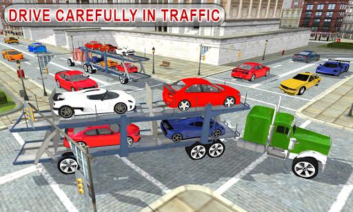 Truck Car Transport Trailer Games 1.5 screenshots 8