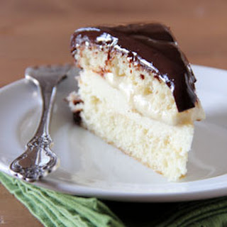 Boston Cream Pie Cheesecake-cake