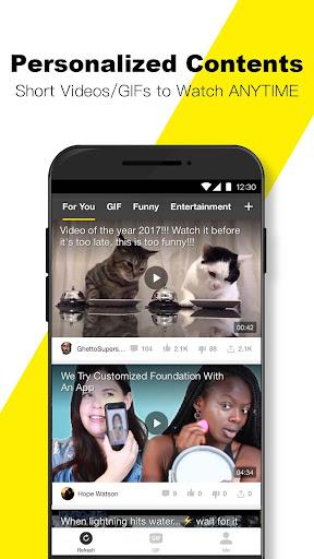 BuzzVideo - Viral Videos, Funny GIFs &TV shows 5.7.2 screenshots 4