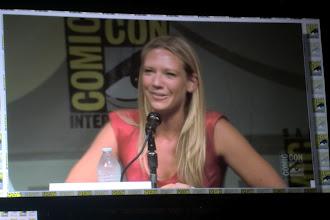 Photo: Sunday - Fringe panel; star Anna Torv