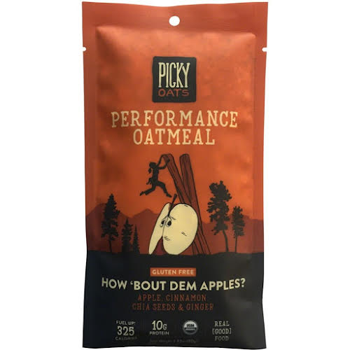 Picky Bars Picky Oats How 'Bout Dem Apples Oatmeal, Box of 10 packets