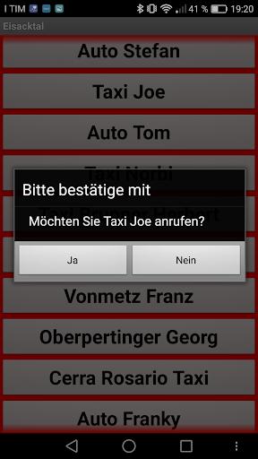 TaxiAPP Su00fcdtirol  screenshots 3
