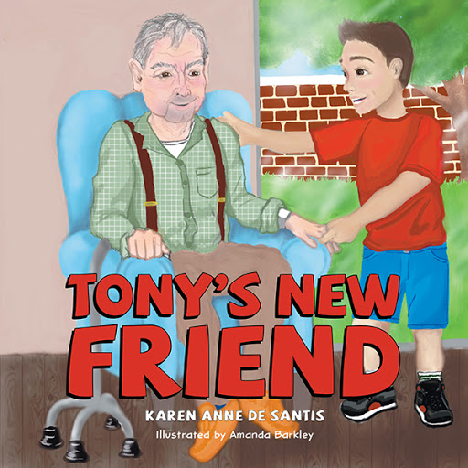Tony's New Friend cover