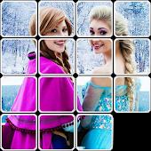 Princesses Slide Puzzles