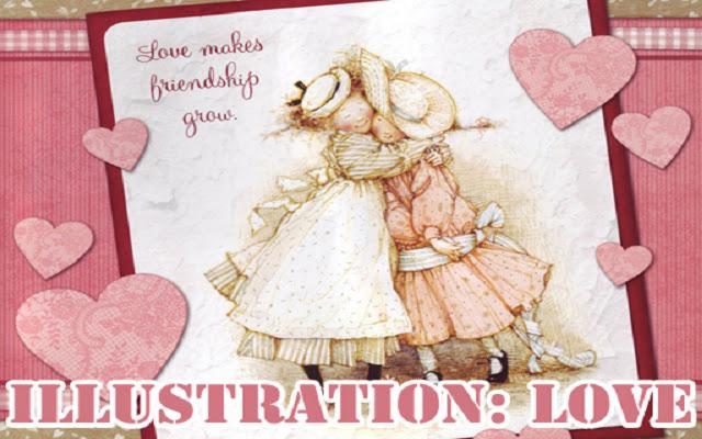 Illustration Love Puzzle