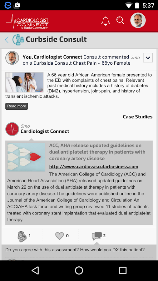 Cardiologist Connect- screenshot
