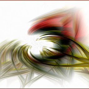 by Elna Geringer - Digital Art Abstract